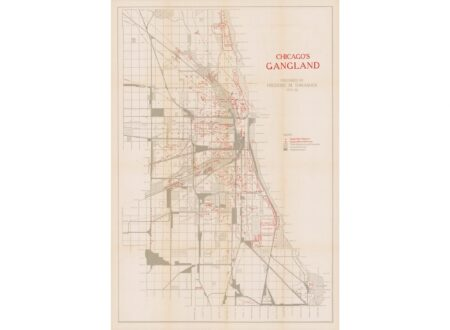 Chicago's Gangland Map Hero 450x330 - Chicago's Gangland Map - Circa 1927
