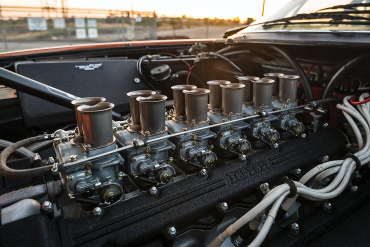 "Ferrari 365 GTB 4 Daytona 10 740x494 - 1971 Ferrari 365 GTB/4 Daytona ""Harrah Hot Rod"""