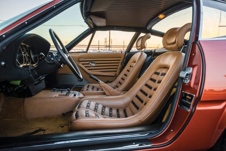 "Ferrari 365 GTB 4 Daytona 2 740x494 - 1971 Ferrari 365 GTB/4 Daytona ""Harrah Hot Rod"""