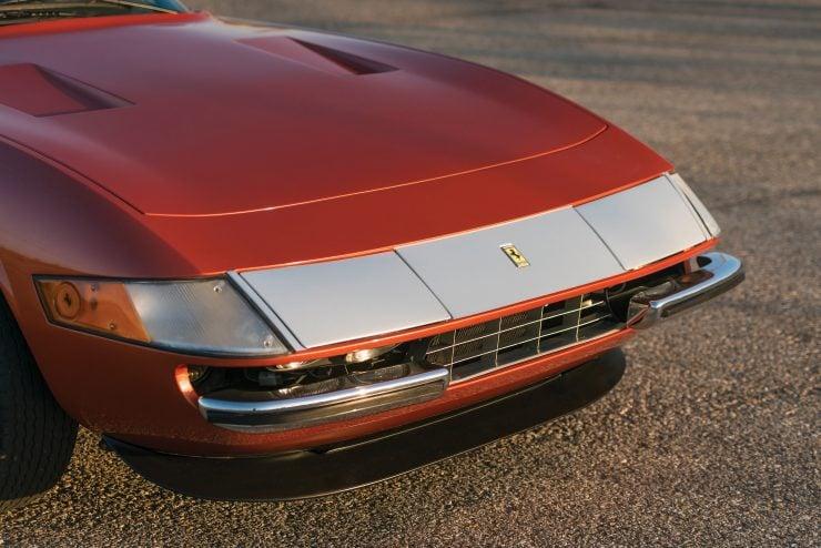 "Ferrari 365 GTB 4 Daytona 5 740x494 - 1971 Ferrari 365 GTB/4 Daytona ""Harrah Hot Rod"""
