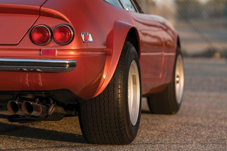 "Ferrari 365 GTB 4 Daytona 9 740x494 - 1971 Ferrari 365 GTB/4 Daytona ""Harrah Hot Rod"""