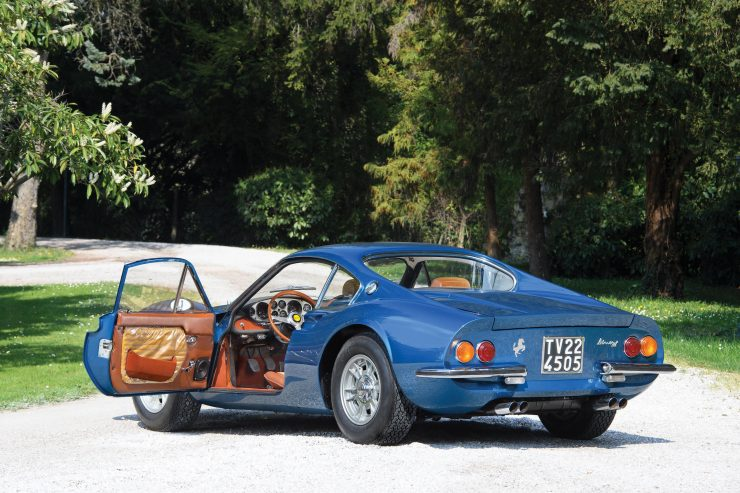 Ferrari Dino 206 GT 1 740x493 - 1969 Ferrari Dino 206 GT
