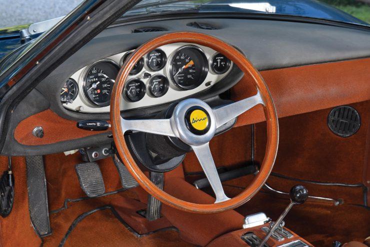 Ferrari Dino 206 GT 10 740x493 - 1969 Ferrari Dino 206 GT