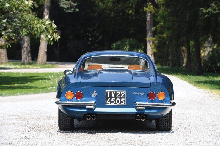 Ferrari Dino 206 GT 11 740x493 - 1969 Ferrari Dino 206 GT