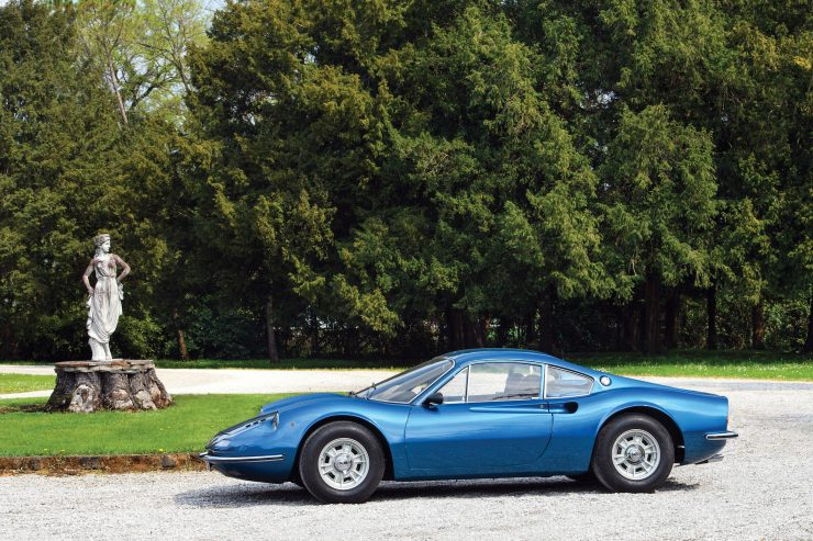 Ferrari Dino 206 GT 16 740x493 - 1969 Ferrari Dino 206 GT