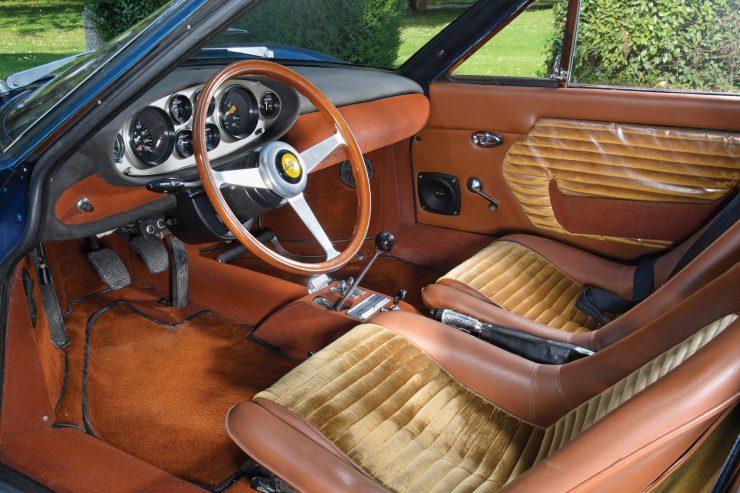 Ferrari Dino 206 GT 17 740x493 - 1969 Ferrari Dino 206 GT