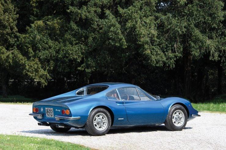Ferrari Dino 206 GT 19 740x493 - 1969 Ferrari Dino 206 GT