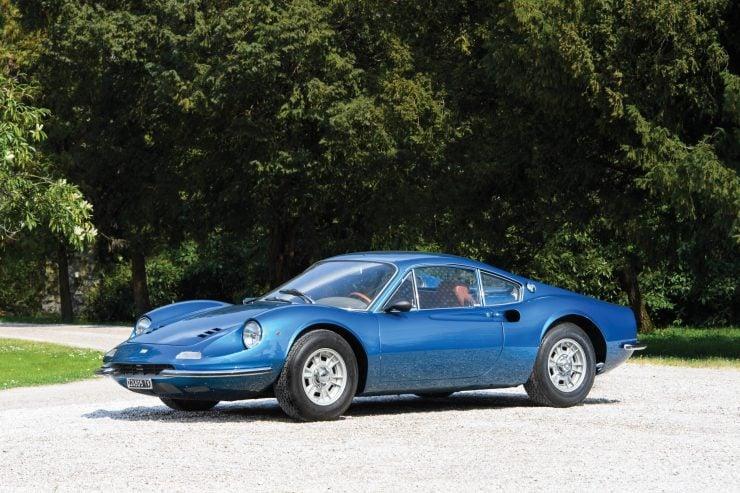 Ferrari Dino 206 GT 2 740x493 - 1969 Ferrari Dino 206 GT