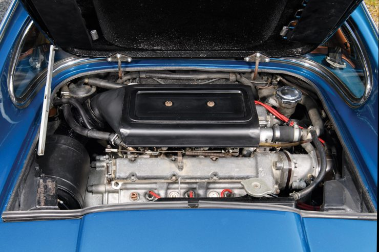 Ferrari Dino 206 GT 5 740x493 - 1969 Ferrari Dino 206 GT