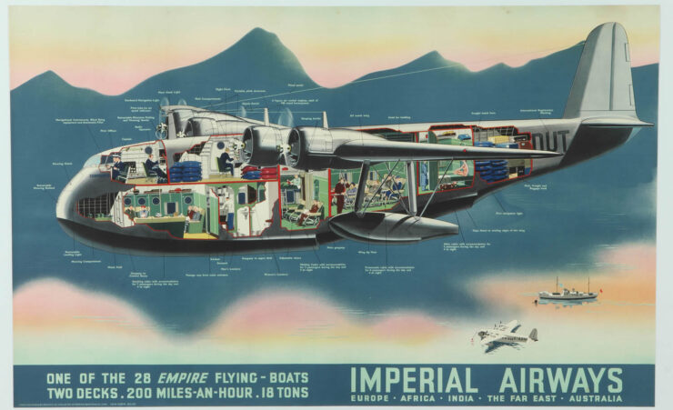 Imperial Airways Flying Boats 740x451 - Documentary: The Last African Flying Boat