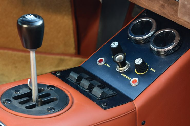 Lamborghini Countach LP400 Gear Shifter 740x493
