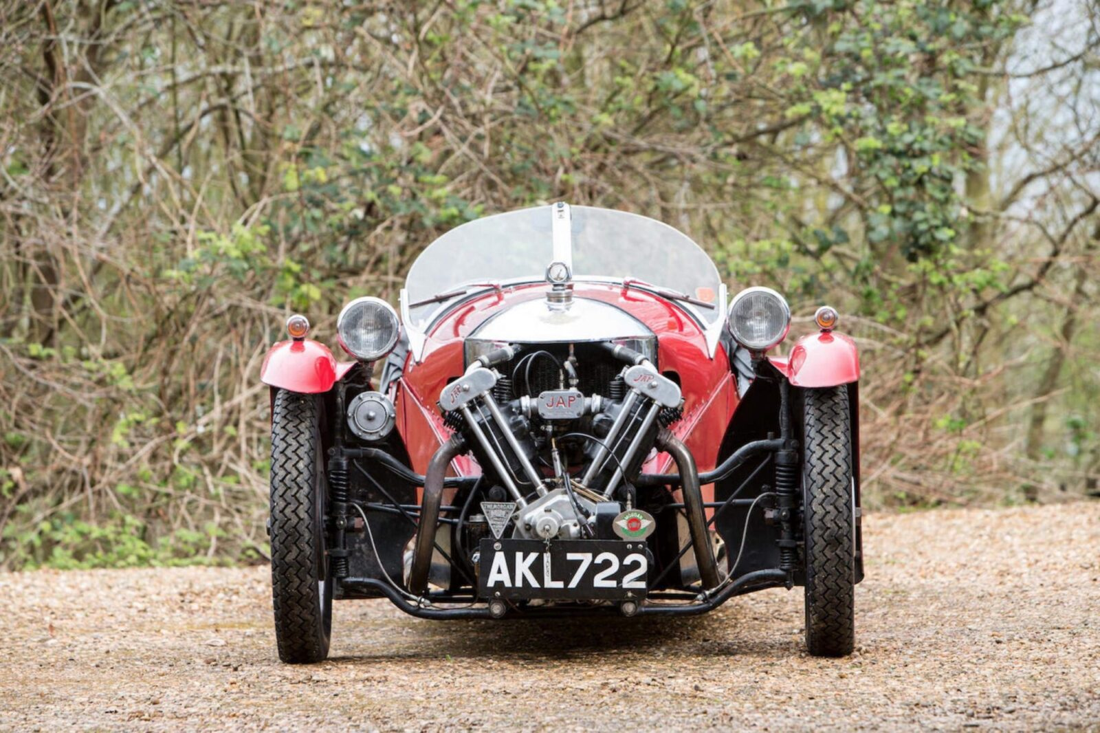 Morgan Super Sports Three Wheeler 1600x1066 - 1933 Morgan Super Sports Three-Wheeler