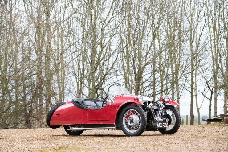 Morgan Super Sports Three Wheeler 3 740x493 - 1933 Morgan Super Sports Three-Wheeler
