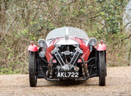 Morgan Super Sports Three Wheeler 450x330 - 1933 Morgan Super Sports Three-Wheeler