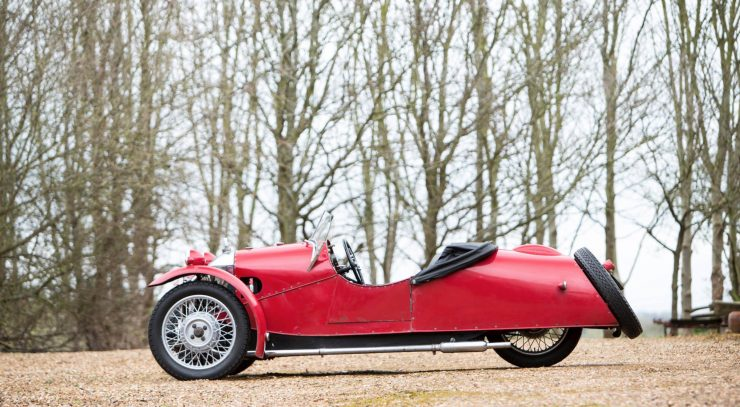 Morgan Super Sports Three Wheeler 5 740x407 - 1933 Morgan Super Sports Three-Wheeler
