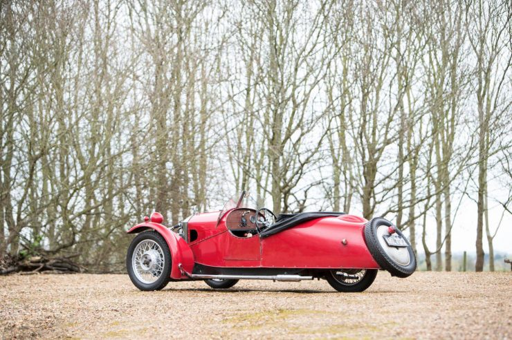 Morgan Super Sports Three Wheeler 6 740x492 - 1933 Morgan Super Sports Three-Wheeler