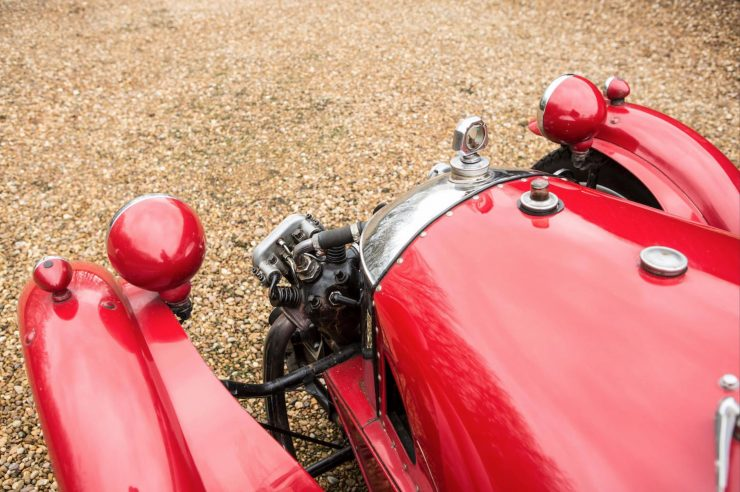 Morgan Super Sports Three Wheeler 9 740x492 - 1933 Morgan Super Sports Three-Wheeler