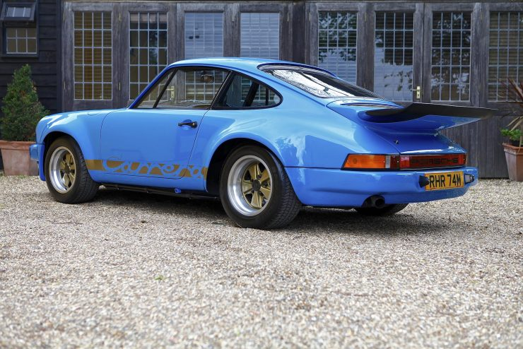 Porsche Carrera 3.0 RS 3 740x494 - 1974 Porsche Carrera 3.0 RS - Ex-Lord Mexborough