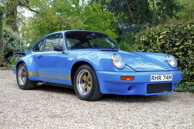 Porsche Carrera 3.0 RS 4 740x493 - 1974 Porsche Carrera 3.0 RS - Ex-Lord Mexborough