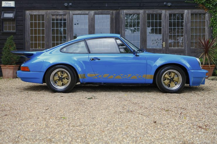 Porsche Carrera 3.0 RS 740x493 - 1974 Porsche Carrera 3.0 RS - Ex-Lord Mexborough