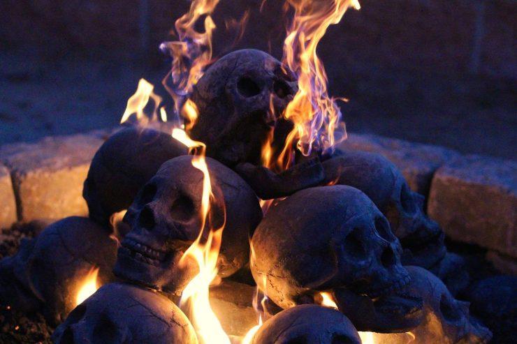 Skull Fire Logs 2 740x493