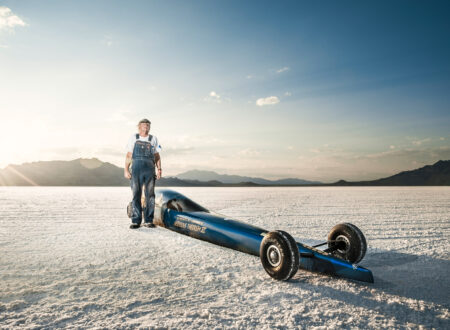 The Worlds Fastest Land Speed Racing in Bonneville 450x330