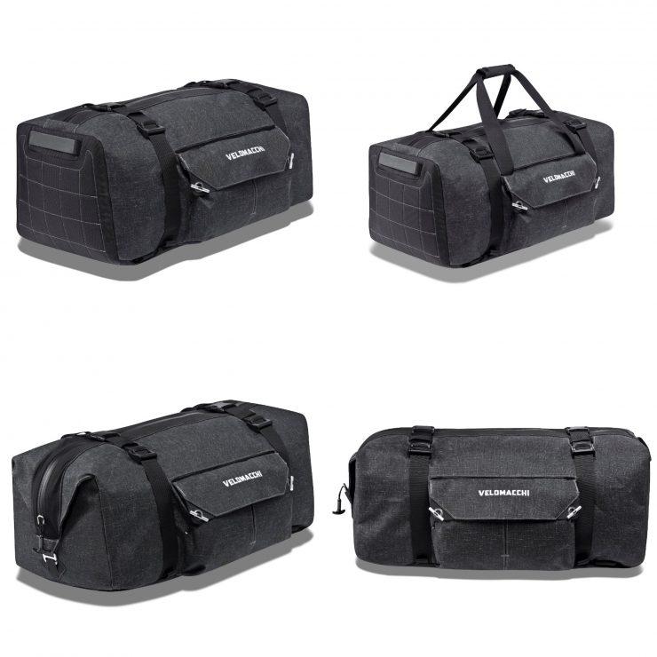 Velomacchi Hybrid Duffel 1 740x740 - Velomacchi Hybrid Duffel Bag