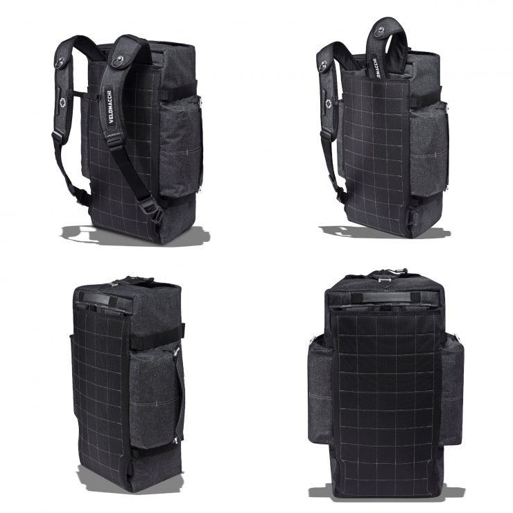 Velomacchi Hybrid Duffel 2 740x740 - Velomacchi Hybrid Duffel Bag