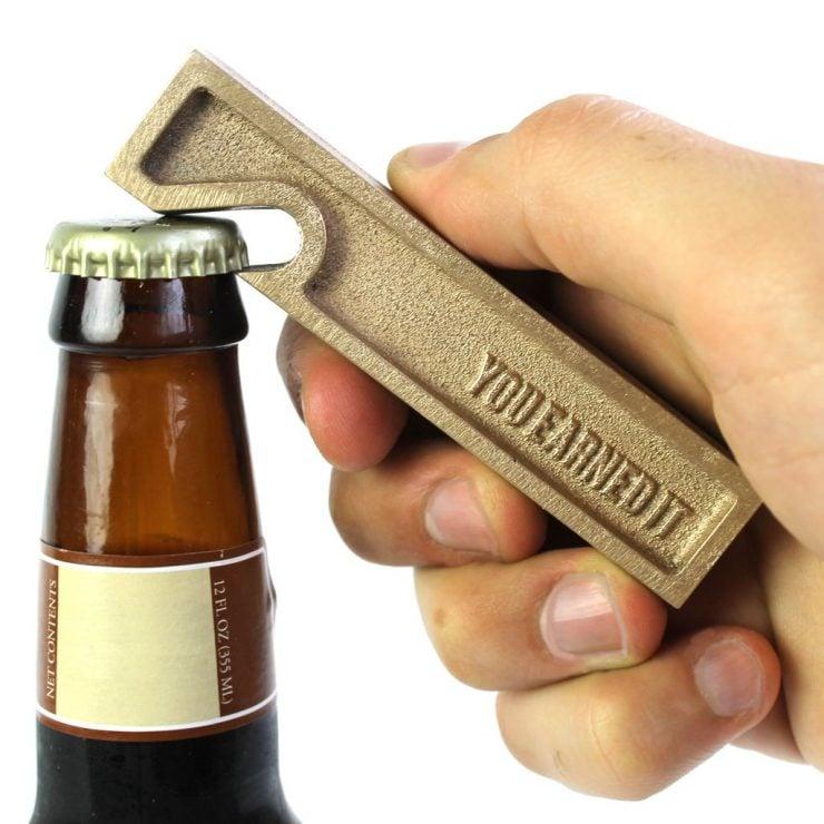 You Earned It Brass Beer Opener 2 740x740 - You Earned It: Brass Beer Opener
