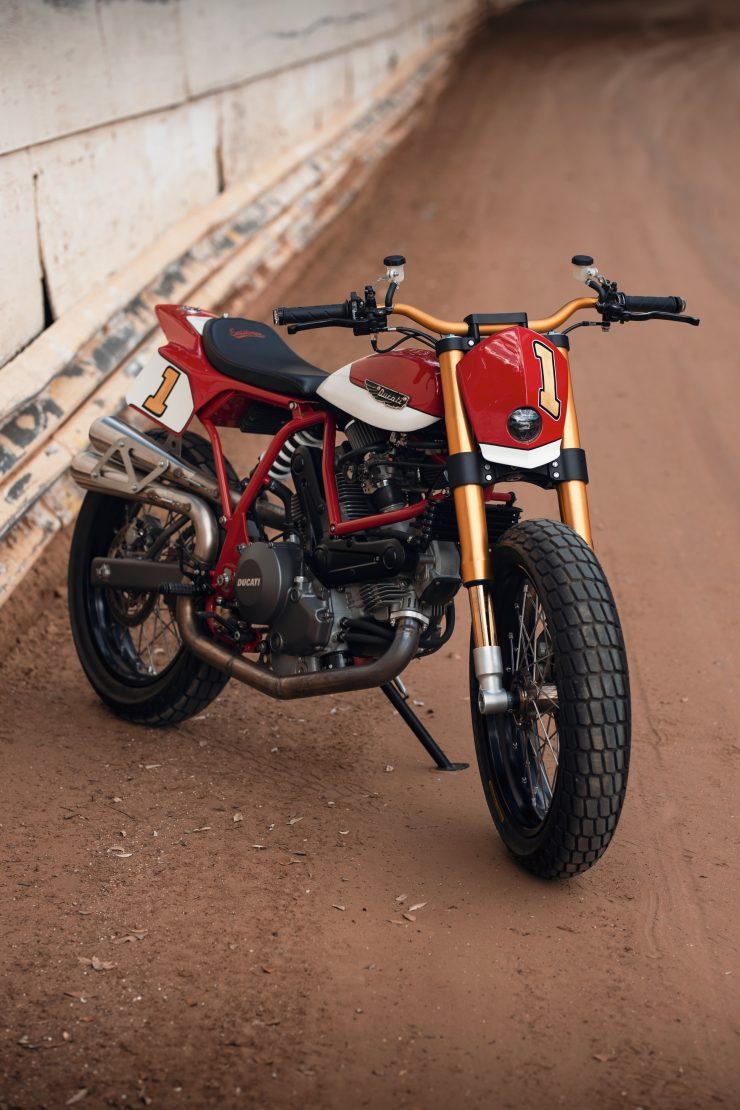 ducati scrambler tracker fuller moto 11 740x1110 - Fuller Moto Ducati Pro Street Tracker