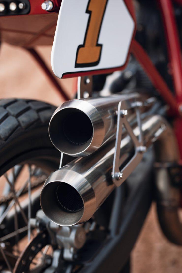 ducati scrambler tracker fuller moto 14 740x1110 - Fuller Moto Ducati Pro Street Tracker