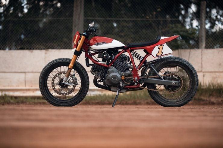 ducati scrambler tracker fuller moto 15 740x493 - Fuller Moto Ducati Pro Street Tracker