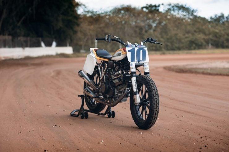 ducati scrambler tracker fuller moto 17 740x493 - Fuller Moto Ducati Pro Street Tracker