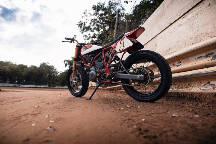 ducati scrambler tracker fuller moto 2 740x493 - Fuller Moto Ducati Pro Street Tracker