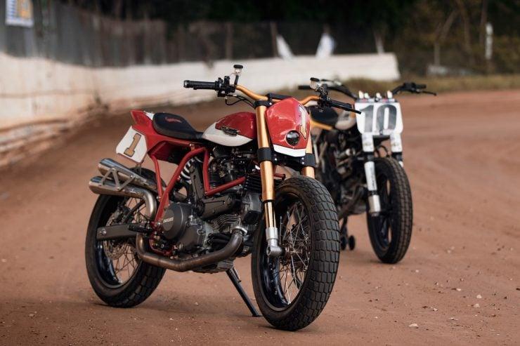 ducati scrambler tracker fuller moto 21 740x493 - Fuller Moto Ducati Pro Street Tracker