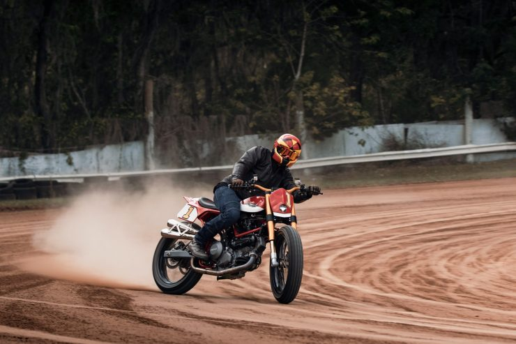 ducati scrambler tracker fuller moto 23 740x493 - Fuller Moto Ducati Pro Street Tracker