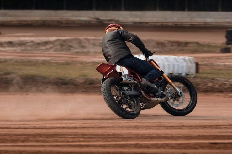 ducati scrambler tracker fuller moto 27 740x493 - Fuller Moto Ducati Pro Street Tracker