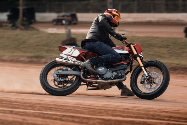 ducati scrambler tracker fuller moto 28 740x493 - Fuller Moto Ducati Pro Street Tracker