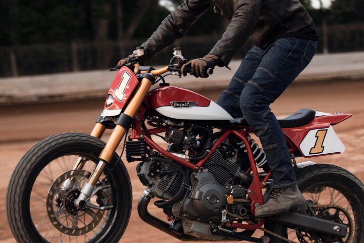 ducati scrambler tracker fuller moto 31 740x493 - Fuller Moto Ducati Pro Street Tracker