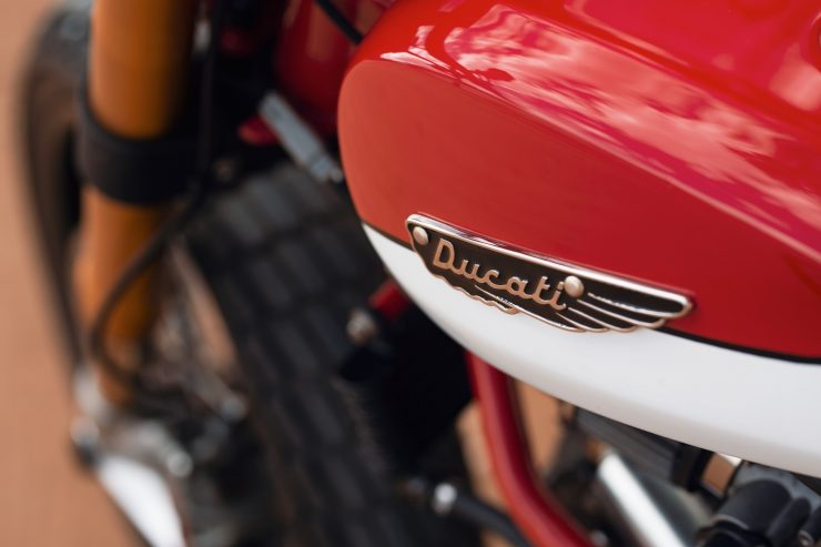 ducati scrambler tracker fuller moto 34 740x493 - Fuller Moto Ducati Pro Street Tracker