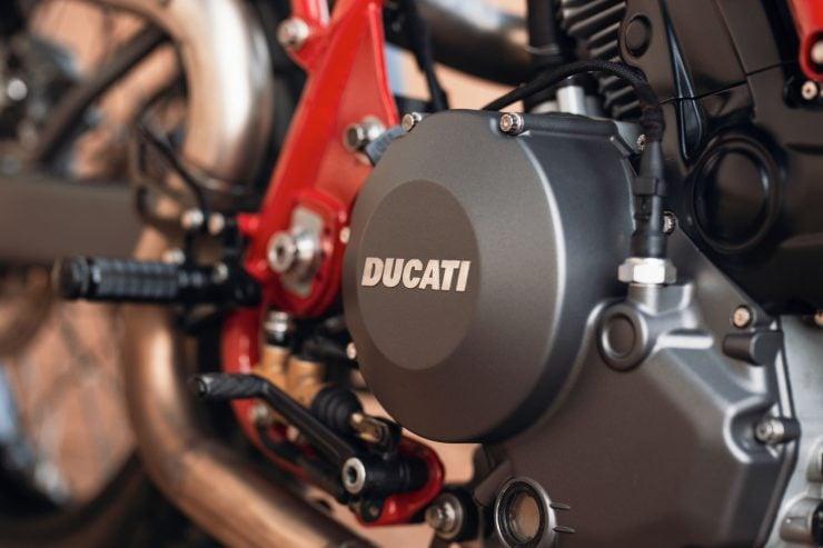 ducati scrambler tracker fuller moto 35 740x493 - Fuller Moto Ducati Pro Street Tracker