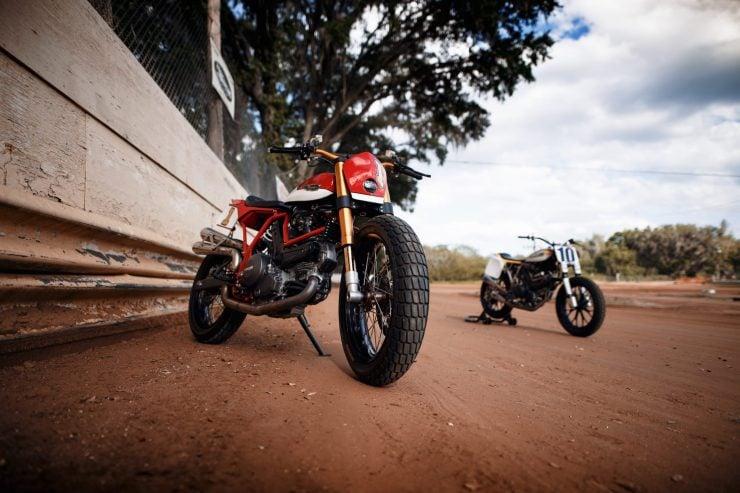 ducati scrambler tracker fuller moto 36 740x493 - Fuller Moto Ducati Pro Street Tracker