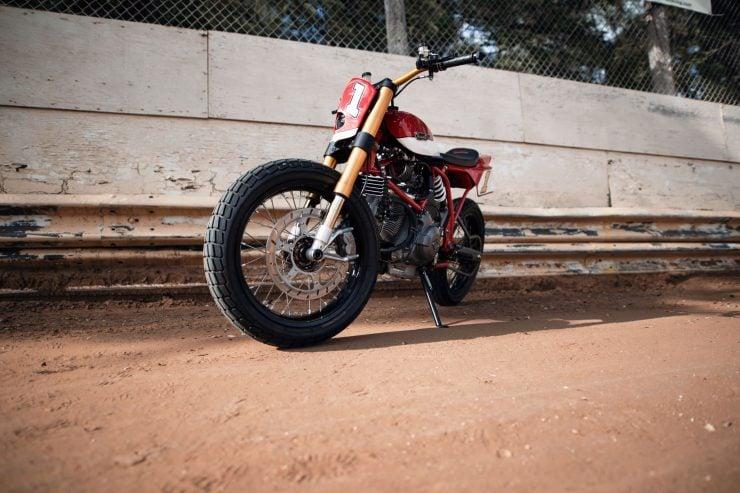 ducati scrambler tracker fuller moto 37 740x493 - Fuller Moto Ducati Pro Street Tracker