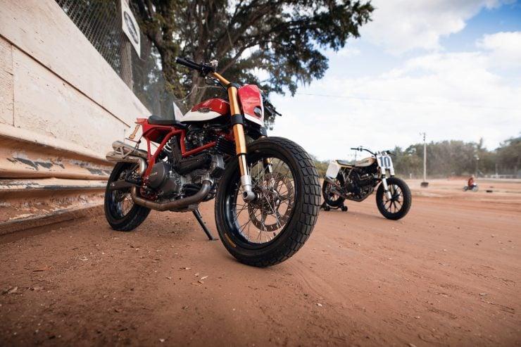 ducati scrambler tracker fuller moto 5 740x493 - Fuller Moto Ducati Pro Street Tracker
