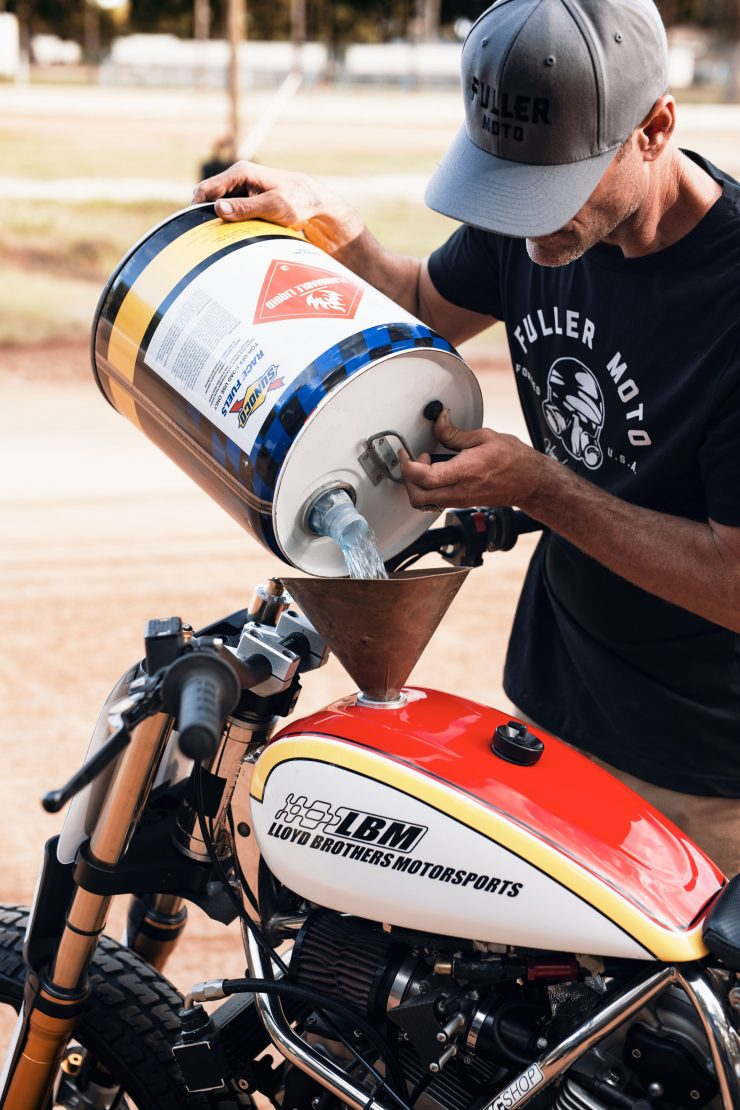 ducati scrambler tracker fuller moto 8 740x1110 - Fuller Moto Ducati Pro Street Tracker