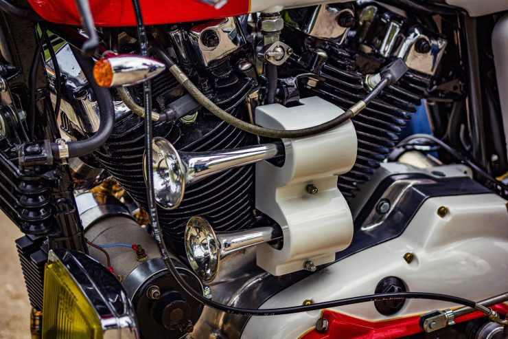 harley davidson ironhead sportster 34 740x493 - Redonda Motors Harley-Davidson Ironhead