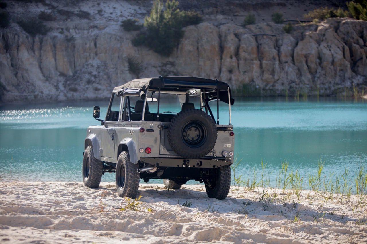 Bf Goodrich Mud Terrain Tires >> Land Rover Defender Td5