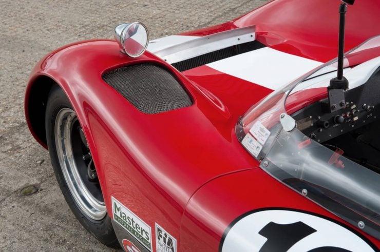 mclaren m1b can am car 14 740x491 - 1965 McLaren M1B Group 7 Can-Am Racer