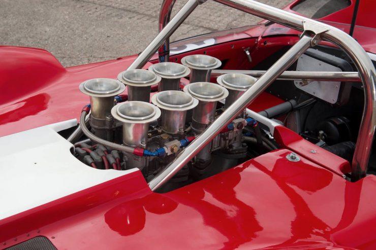 mclaren m1b can am car 18 740x493 - 1965 McLaren M1B Group 7 Can-Am Racer