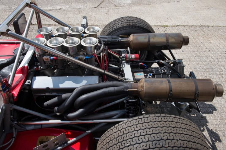 mclaren m1b can am car 22 740x493 - 1965 McLaren M1B Group 7 Can-Am Racer